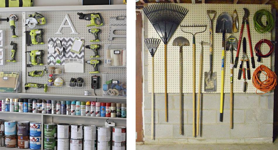 Garage Organization For The Winter