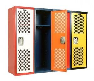 locker cubbies