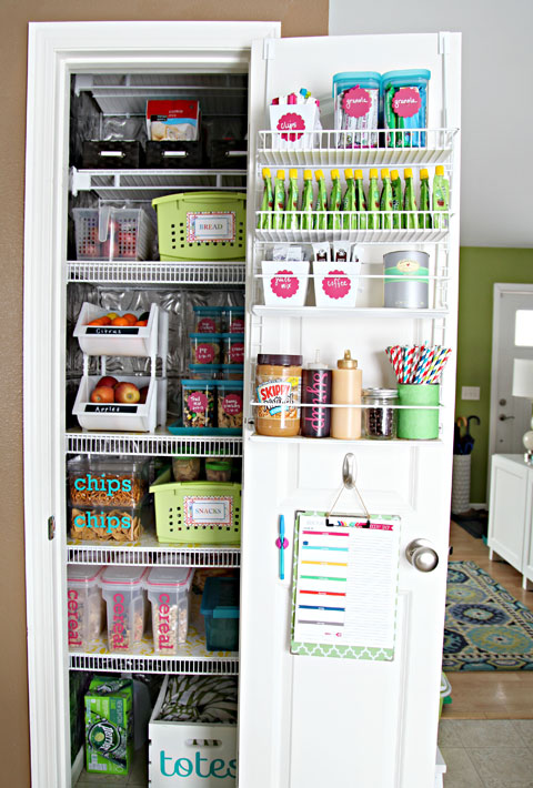WireShelvingInPantry-DoorStorage