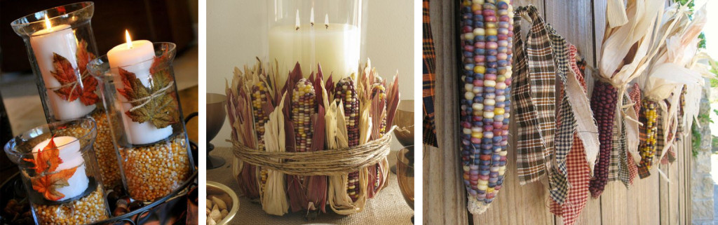 ThanksgivingDecorUsingCorn