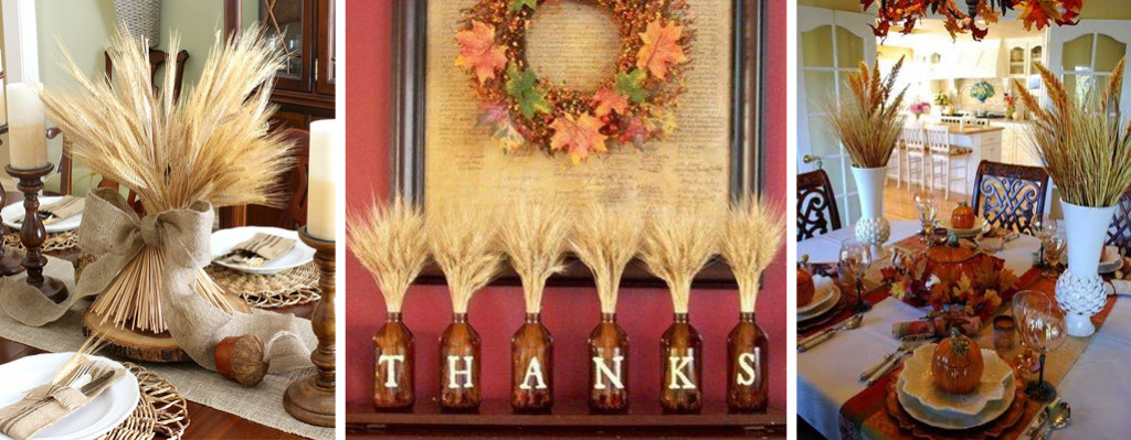 ThanksgivingDecorUsingWheat