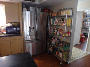 Wire Shelving Pantry