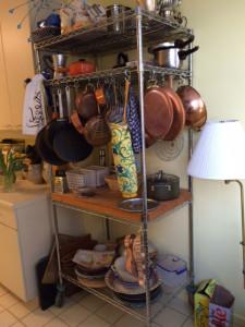Pot Rack Shelving