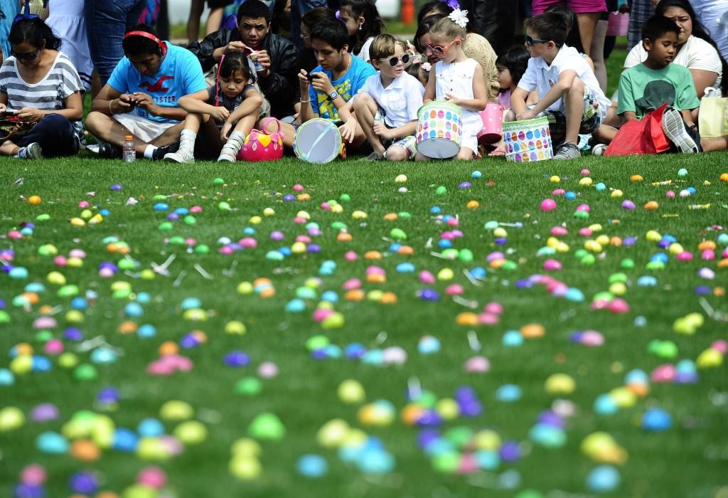 Easter Egg Hiding