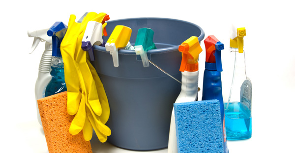 spring cleaning supplies and products