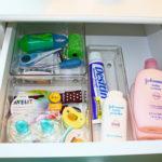 Organized Baby Supplies