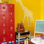 locker in kids playroom