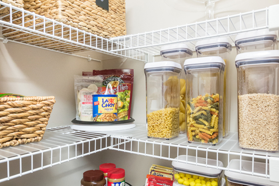 Installing Wire Shelves In Your Pantry