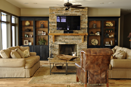 Incredible How To Hang A Floating Mantel From A Stone Or Brick Download Free Architecture Designs Grimeyleaguecom