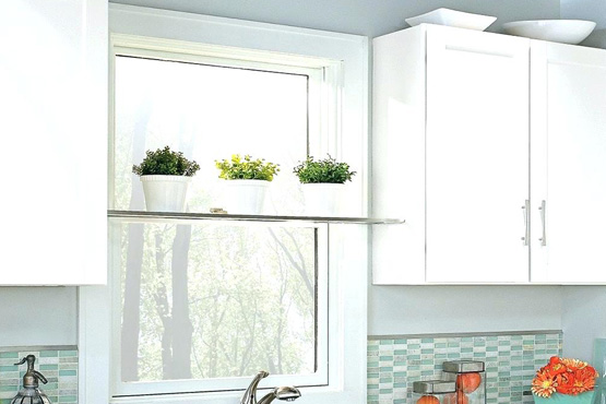 Use Your Kitchen Window For Extra Storage The Shelving Store