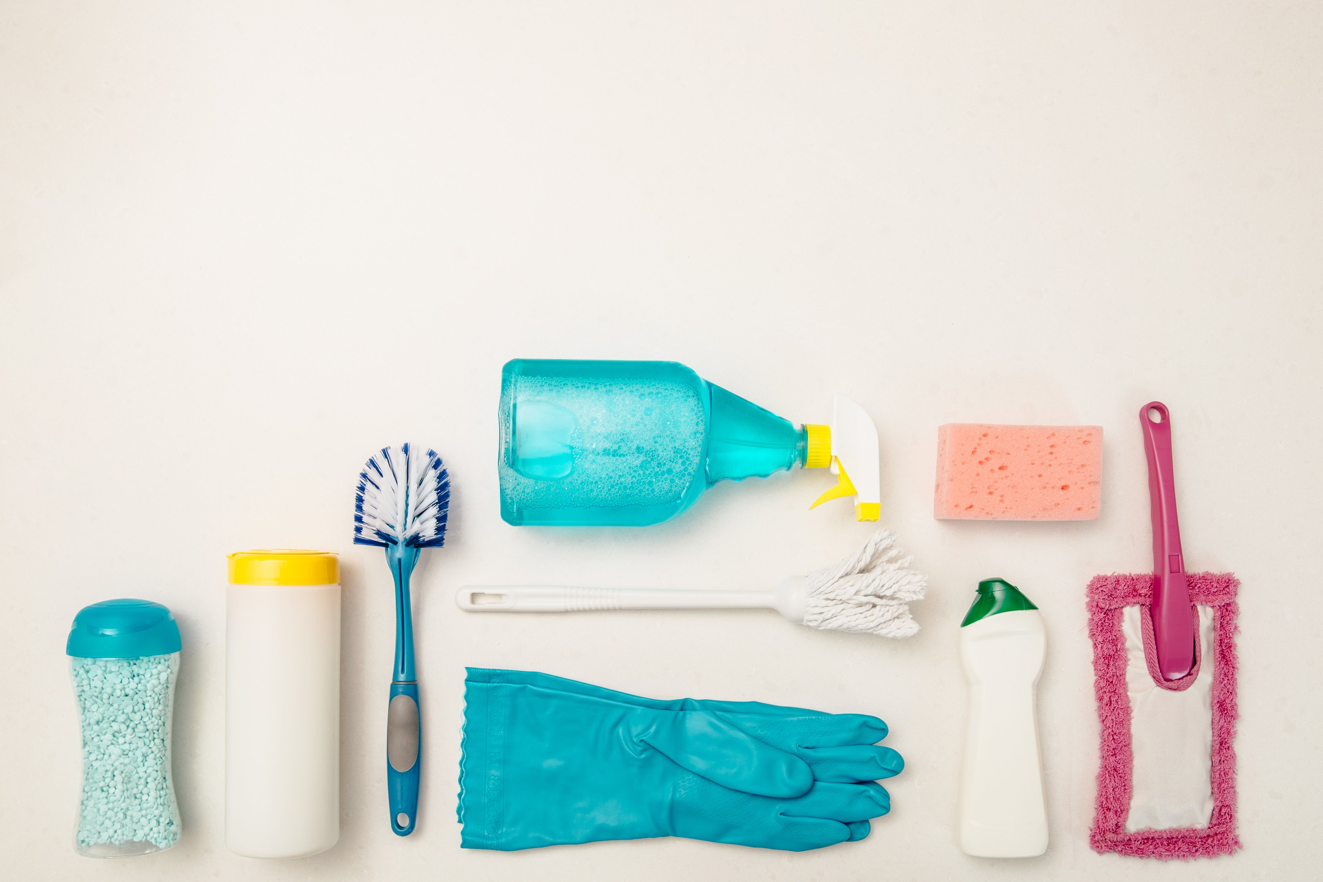 cleaning your house during the pandemic