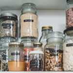 decanting items in your pantry
