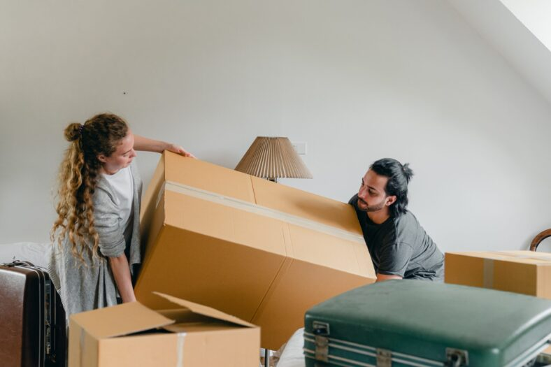 downsize, home, house, downsizing, moving, storage, shelving